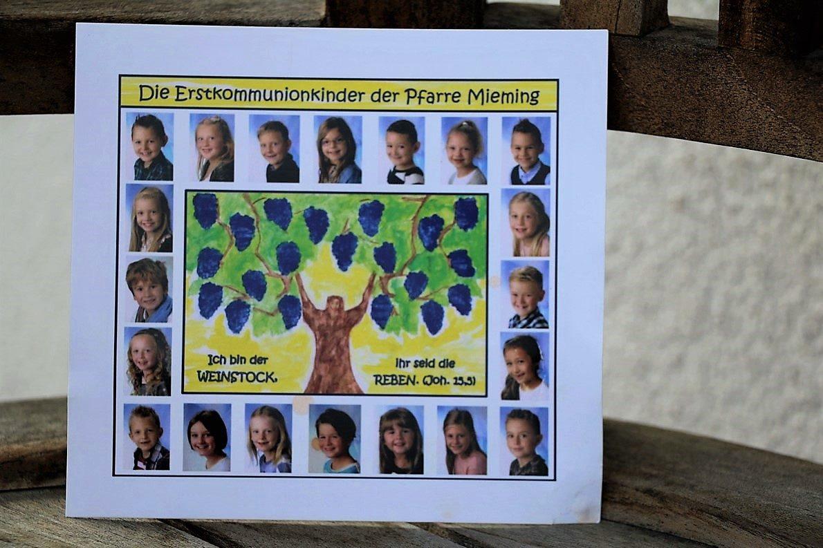 Erstkommunion in Mieming - 20 Kinder feiern in der Pfarrkirche Untermieming. Foto: Mieming.online