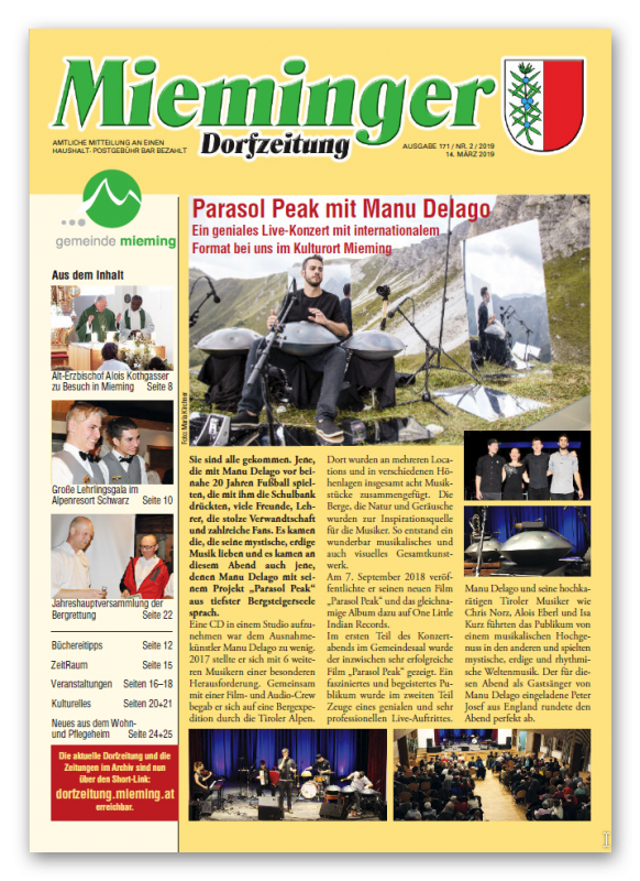Dorfzeitung A4 März 2019